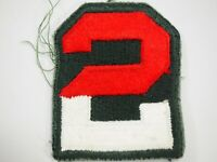 WWII 2nd Army Shoulder Patch