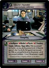 Star Trek CCG 2E These Are The Voyages Bashir Founder 12R51