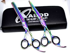 Professional Salon Hair Cutting+Thinning Scissors Barber Hairdressing Shears 7""