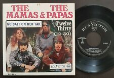 THE MAMAS AND THE PAPAS EP MADE IN PORTUGAL 45 PS 7 *NO SALT ON HER TAIL*