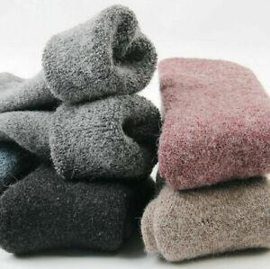 New Winter Women 100% Wool Thick Warm & Comfortable & Pure Soft Socks