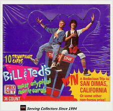 1992 Proset Bill & Ted's Most Typical Movie Cards Box (36)