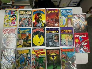 Underground comic lot - nice mix of 17 books, Robert Crumb, Vaughn Bode++