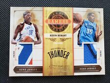 KEVIN DURANT 2009-10 TIMELESS TREASURES HOME & ROAD GAMERS PATCH JERSEY #/10! SP