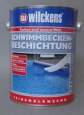 Beschichtung Wilckens Schwimmbecken Farbe poolblau 2,5L Schwimmbad Poolfarbe
