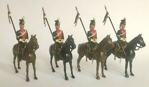 Britains - From Set 24 - 9th [Queen's] Royal Lancers 1938  FACTORY SPECIAL ORDER