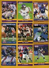 1990 PS Minnesota Vikings Set CRIS CARTER RICH GANNON HERSCHEL WALKER ANTHONY