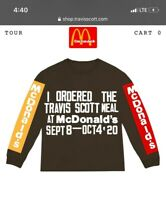 Travis Scott x McDonalds I ORDERED THE TSM L/S Extra Large Confirmed Order