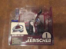 David Aebischer - White Variant - McFarlane NHL Series 10 - Colorado Avalanche