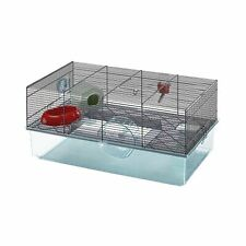 Favola Hamster Cage | Includes Free Water Bottle, Exercise Wheel, Food Dish &.