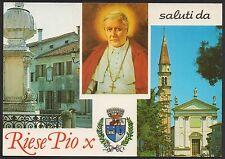 AD3490 Treviso - Provincia - Saluti da Riese Pio X - Vedute