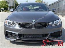 BMW F32 F33 F36 M-Tech & M-Sport P Style Front Bumper Lip Carbon Fiber