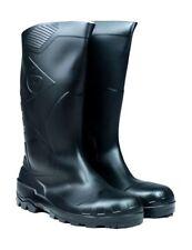 Scarpe da uomo neri Dunlop di gomma