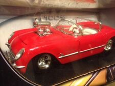 1:18 Hot Wheels Red 1953 Corvette Pro Street  Supercharger Blown