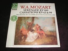 MOZART PAILLARD Serenade KV 100 Cassations LP Erato 75184 SEALED Mint Vinyl Cut