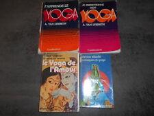 Yoga : lot de 4 livres  état correct