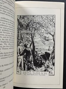 Wilkie Collins THE PRIVATE LIBRARY 1980 Journal ILLUSTRATED Sette Of Odd Volumes