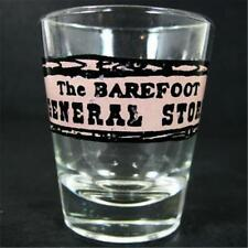 The Barefoot General Store Shot Glass 2 dia x 2.375 North Myrtle Beach SC