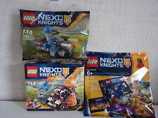 LEGO NEXO KNIGHTS Juego de 3-70311 + 30371 + Polybag - NUEVO Y EMB. orig.