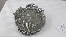 Nude Lady In a Forest Scene Dish or Tray  JZ-0582