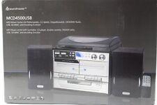 Soundmaster MCD4500 Stereo- Musikcenter und Encoding / Platte / CD / Cassette