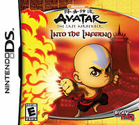 Avatar: The Last Airbender - Into the Inferno (Nintendo DS) Lite DSi 2ds 3ds xl