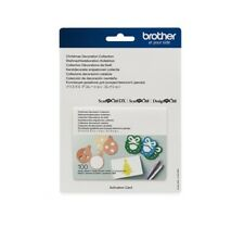 Brother ScanNCut Christmas Decoration Collection Activation Card CACDCP01