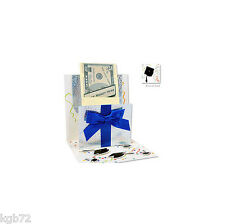 Graduation Money Pop Up Greeting Card Up With Paper #679 Money/Gift Card Holder