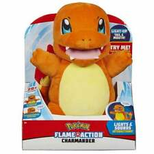 Pokemon 10in Flame Action Charmander Fire Lizard Pokemon with Lights and Sounds