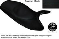 BLACK /& BRIGHT RED CUSTOM FITS YAMAHA XJ 700 MAXIM FRONT LEATHER SEAT COVER