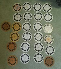 Lot of 25 Vintage View-Master Reels Sawyers vacation destinations