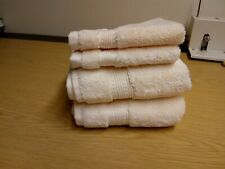 Charisma 100% Cotton Set Of 2 Hand Towels And 2 Face Cloths In Cream