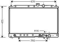 New OE Spec Radiator for Mitsubishi Colt 1.6 92-95 & Lancer 1.6 1.8 Auto 92-01
