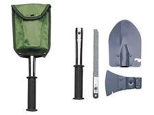 Pala PLEGABLE hacha hacha sierra camping herramienta SurvivalTool