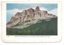 Folkard Card BANFF ALBERTA, Banff National Park Mount Eisenhower