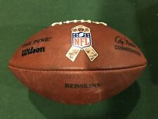 Game Used Football - Redskins / 49ers - Salute To Service
