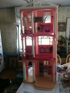 RARE Huge Vintage 3 Story Barbie House size 42-9-20