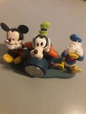 Walt Disney World Mickey Desk Clock  Pluto Donald duck