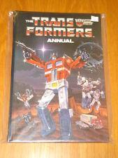 TRANSFORMERS MARVEL COMICS BRITISH ANNUAL 1986 VF