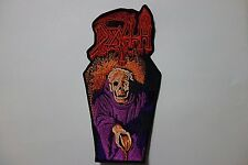 death scream bloody gore cofin    EMBROIDERED PATCH