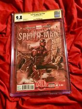 CGC SS 9.8~SUPERIOR SPIDER-MAN #6AU~ULTRON AVENGERS~SIGNED BY TOM HOLLAND~P