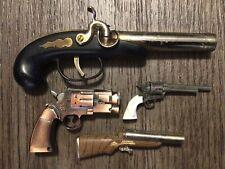 Vintage Derringer Flintlock Musket Pistol Colt Shotgun Gun Table Lighter Modern