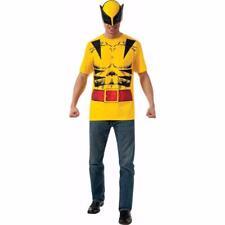 Superhero T-Shirt Adult Costume Wolverine Halloween sz M Medium NEW!