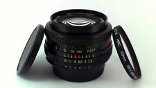Nikon Ai fit, Vivitar 28mm f/2.8 AUTO WIDE-ANGLE Lens + HMC Filter &Caps.'MINT-'