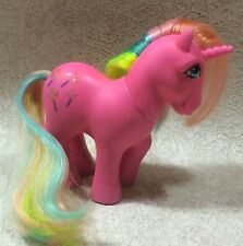 Vintage My Little Pony Pinwheel G1 Unicorn 1984 Rainbow Mane Tail