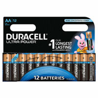 GENUINE 12 X DURACELL AA ULTRA POWER ALKALINE BATTERIES LR6, MX1500, MN1500