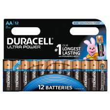 DURACELL ULTRA POWER AA BATTERIES SIZE ALKALINE MX1500 LR6 MIGNON PACK OF 12 NEW