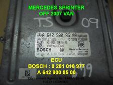 MERCEDES SPRINTER 642 ECU - FITS 2006+ - A 642 900 85 00 - 0281 016 977