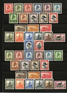 BELGIAN CONGO (1942-1943 Mi#204-244 Definitives) MNH SuperB Cat.Vat. € 200.00