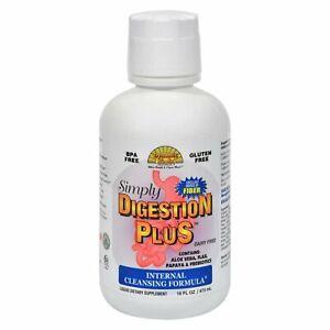 Dynamic Health Simply Digestion Plus 16 Oz - 2 Pack